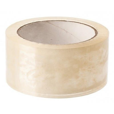 PP tape klar 50 mm x 66 m
