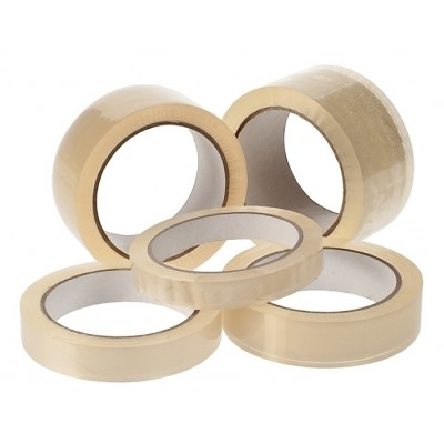 PP tape klar 25 mm x 66 m